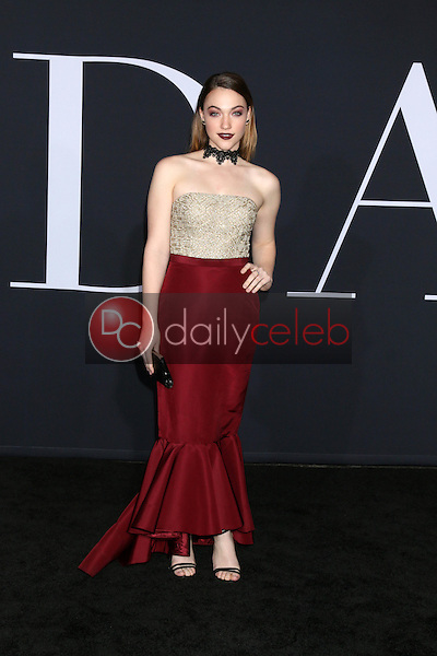 """Violett Beane<br /> at the """"Fifty Shades Darker"""" World Premiere, The Theater at Ace Hotel, Los Angeles, CA 02-02-17<br /> David Edwards/DailyCeleb.com 818-249-4998"""