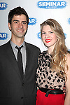 Hamish Linklater & Lily Rabe.during the Broadway Opening Night After Party for 'Seminar' at Gotham Hall in New York City on 11/20/2011.