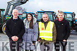 Aidan and Deirdre Murphy, Oliver Daly and Mike O'Donoghue  at the Barradubh Vintage Tractor run on Sunday