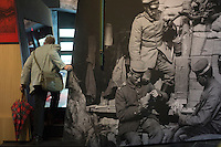 An elderly man visits an exhibition of World War I at Flanders Fields Museum in Ypres, West Flanders, Belgium, August 26, 2014. 2014 marks 100th anniversary of the Great War.