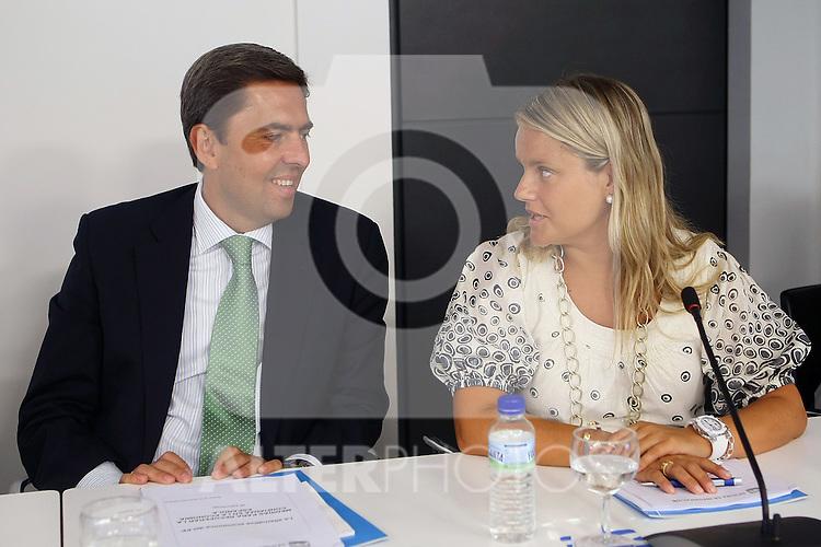 Maria del Mar Blanco durante el Comite Ejecutivo Nacional del PP..(ALTERPHOTOS/Acero).