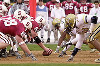 Zack Quaccia during Stanford's loss to Georgia Tech in the Seattle Bowl on December 27, 2001 in Seattle, WA.<br />Photo credit mandatory: Gonzalesphoto.com