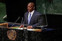 New York City, NY. 25 September 2014. Joseph Kabila Kabange the President of the Democratic Republic of the Congo attends the 69th United Nations General Assembly at United Nations Headquarters.  Photo by Kena Betancur/VIEWpress