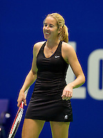 Rotterdam, Netherlands, December 17, 2015,  Topsport Centrum, Lotto NK Tennis, Chayenne Ewijk (NED)<br /> Photo: Tennisimages/Henk Koster