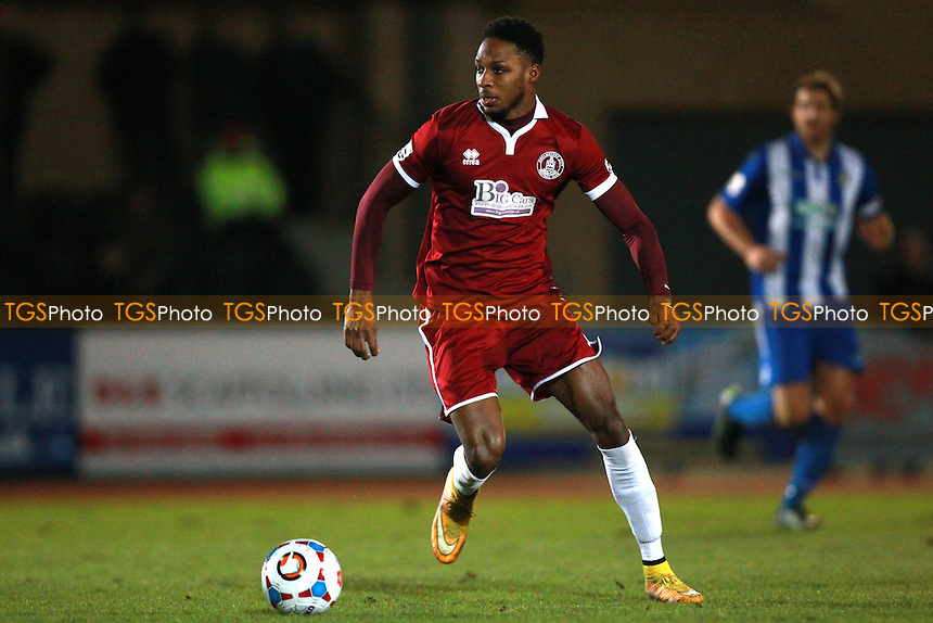 Bagasan Graham of Chelmsford during Chelmsford City vs Bishop's Stortford, Vanarama National League South Football at Melbourne Park, Chelmsford