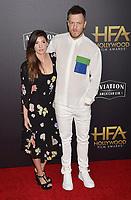 eeeeeeeeeeeeeeBEVERLY HILLS, CA - NOVEMBER 04: Aja Volkman, Dan Reynolds  arrives at the 22nd Annual Hollywood Film Awards at the Beverly Hilton Hotel on November 4, 2018 in Beverly Hills, California.<br /> CAP/ROT/TM<br /> &copy;TM/ROT/Capital Pictures