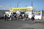 Ticket office for Doolin Ferries boat trips to the Aran Islands, Doolin, County Clare, Ireland
