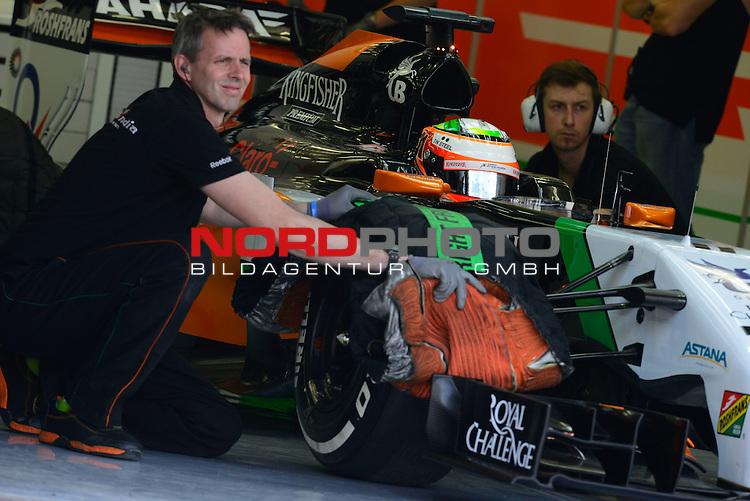 Sergio Perez (MEX) Force India Formula One Team<br />  Foto &copy; nph / Mathis