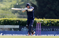 Stevie Eskinazi of Middlesex tries a hook shot during Middlesex vs Essex Eagles, Royal London One-Day Cup Cricket at Radlett Cricket Club on 17th May 2018