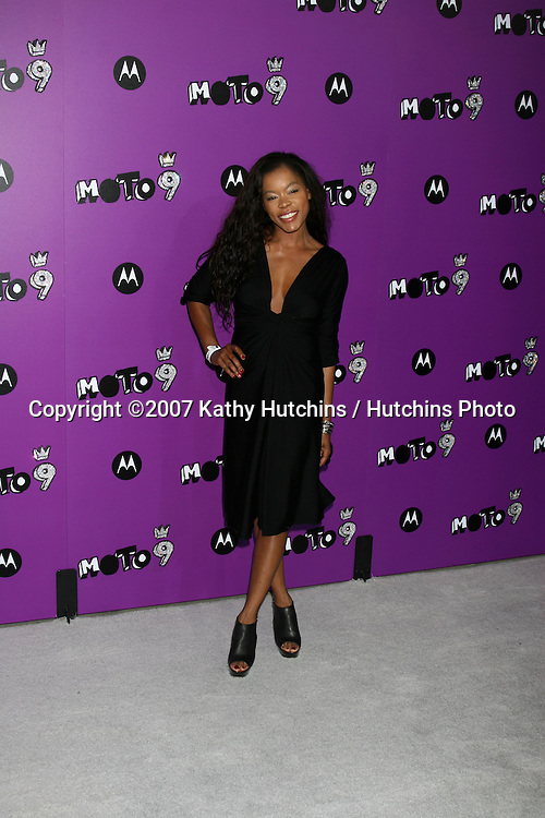 "Golden Brooks.Motorola 9 Party.""The Lot"".Los Angeles,  CA.November 8, 2007.©2007 Kathy Hutchins / Hutchins Photo...               ."