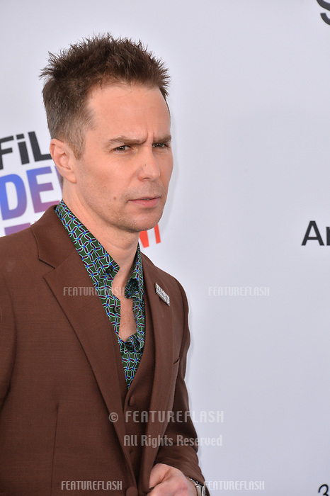 Sam Rockwell at the 2018 Film Independent Spirit Awards on the beach in Santa Monica, USA 03 March 2018<br /> Picture: Paul Smith/Featureflash/SilverHub 0208 004 5359 sales@silverhubmedia.com