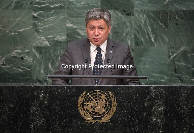 KYRGYZSTAN<br /> H.E. Erlan ABDYLDAYEV Minister for Foreign Affairs<br /> General Assembly 70th session 3rd plenary meeting<br /> Address by His Holiness Pope Francis