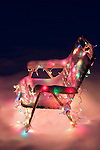 Christmas Lights On Lawn Chair