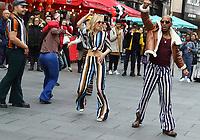 FEB 5 BET Networks  'American Soul Train Flash Mob