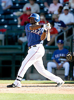 Brandon Boggs  - Texas Rangers - 2009 spring training.Photo by:  Bill Mitchell/Four Seam Images