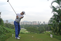 Fredrik Andersson Hed (SWE) on the 3rd tee during Round 3 of the UBS Hong Kong Open 2012, Hong Kong Golf Club, Fanling, Hong Kong. 17/11/12...(Photo Jenny Matthews/www.golffile.ie)