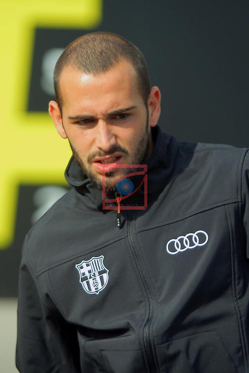 AUDI Premium Partner del FC Barcelona.<br /> Aleix Vidal.