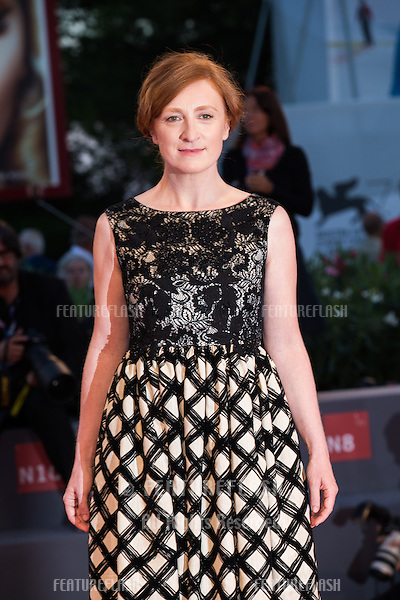 Federica Fracassi at the premiere of Blood Of My Blood at the 2015 Venice Film Festival.<br /> September 8, 2015  Venice, Italy<br /> Picture: Kristina Afanasyeva / Featureflash