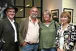 Willie Dillon, Andy Spearman, Jenny Walton and Angela McCormick at the Launch of Eric O'Neill's Photography Exhibition, Callans Narrow West Street...Photo NEWSFILE/Jenny Matthews.(Photo credit should read Jenny Matthews/NEWSFILE)....This Picture has been sent you under the condtions enclosed by:.Newsfile Ltd..The Studio,.Millmount Abbey,.Drogheda,.Co Meath..Ireland..Tel: +353(0)41-9871240.Fax: +353(0)41-9871260.GSM: +353(0)86-2500958.email: pictures@newsfile.ie.www.newsfile.ie.FTP: 193.120.102.198.