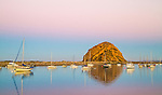A peaceful scene as dawn approaches on Morro Bay