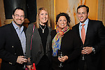 From left: Ian and Karen Scharfman with Rochelle and Scott Jacobson at a dessert reception for Louis Gossett Jr. and the Anti-Defamation League at Chateau Carnarvon Tuesday Nov. 11, 2014.(Dave Rossman photo)