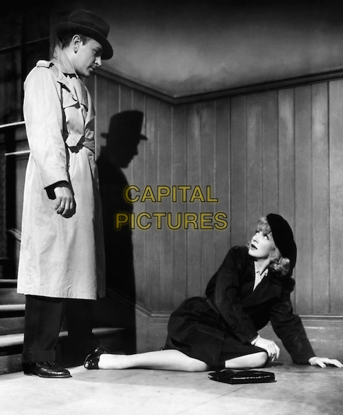 MARLENE DIETRICH With George Raft.in Manpower.*Filmstill - Editorial Use Only*.CAP/PLF.Supplied by Capital Pictures.