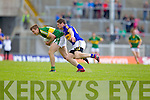 James O'Donoghue, Kerry in action against Philip Austin, Tipperary in the first round of the Munster Football Championship at Fitzgerald Stadium on Sunday.