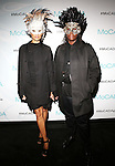 Guest and Mickalene Thomas Attend The Museum of Contemporary African Diasporan Arts (MoCADA) celebrate its 16th anniversary of serving the community through the arts with its 2nd annual MoCADA Masquerade Ball Held at Brooklyn Academy of Music (BAM) Lepercq Ballroom