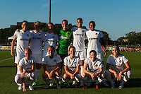 Washington Spirit starting eleven. Sky Blue FC defeated the Washington Spirit 1-0 during a National Women's Soccer League (NWSL) match at Yurcak Field in Piscataway, NJ, on July 6, 2013.