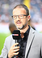 Vorstand Sport Fredi Bobic (Eintracht Frankfurt) - 18.08.2019: Eintracht Frankfurt vs. TSG 1899 Hoffenheim, Commerzbank Arena, 1. Spieltag Saison 2019/20 DISCLAIMER: DFL regulations prohibit any use of photographs as image sequences and/or quasi-video.
