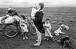 Família de índios guaraní kaiowá expulsos de suas terras no estado do Mato grosso do Sul, caminham  pelas fazendas do município de Rio Brilhante em busca de emprego..Expelled of their lands family of Indians guaraní kaiowá in the state of Mato Grosso do Sul, they walk for the farms of the municipal district of Brilliant Rio in search of job..Família de índios guaraní kaiowá expulsos de suas terras no estado do Mato grosso do Sul, caminham  pelas fazendas do município de Rio Brilhante em busca de emprego..Expelled of their lands family of Indians guaraní kaiowá in the state of Mato Grosso do Sul, they walk for the farms of the municipal district of Brilliant Rio in search of job.