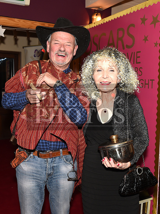 Seamus and Brid Maguire at the Oscars fancy dress party in Watters of Collonin aid of the Gary Kelly Cancer Support Centre.  Photo:Colin Bell/pressphotos.ie