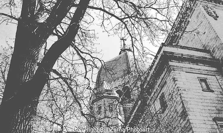 L'Oratoire Saint-Joseph du Mont Royal.  The most beautiful cathedral in Montreal, Canada