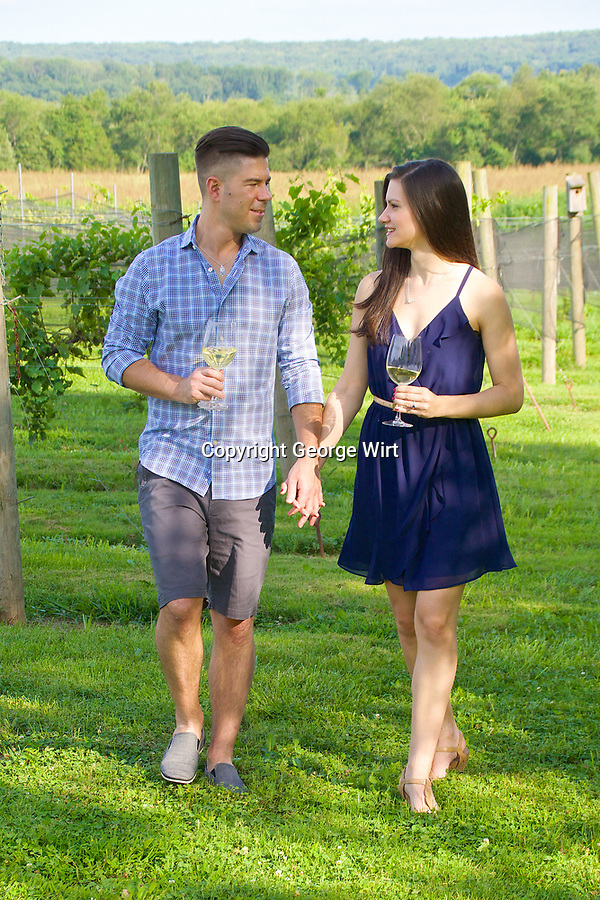 Katya & Dan at Old York Cellars