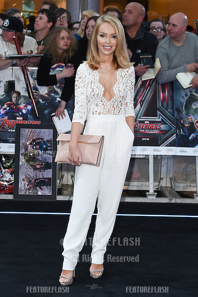 "Katie Piper arrives for the ""Avengers: Age of Ultron"" European premiere at the Vue cinema, Westfield London. 21/04/2015 Picture by: Steve Vas / Featureflash"