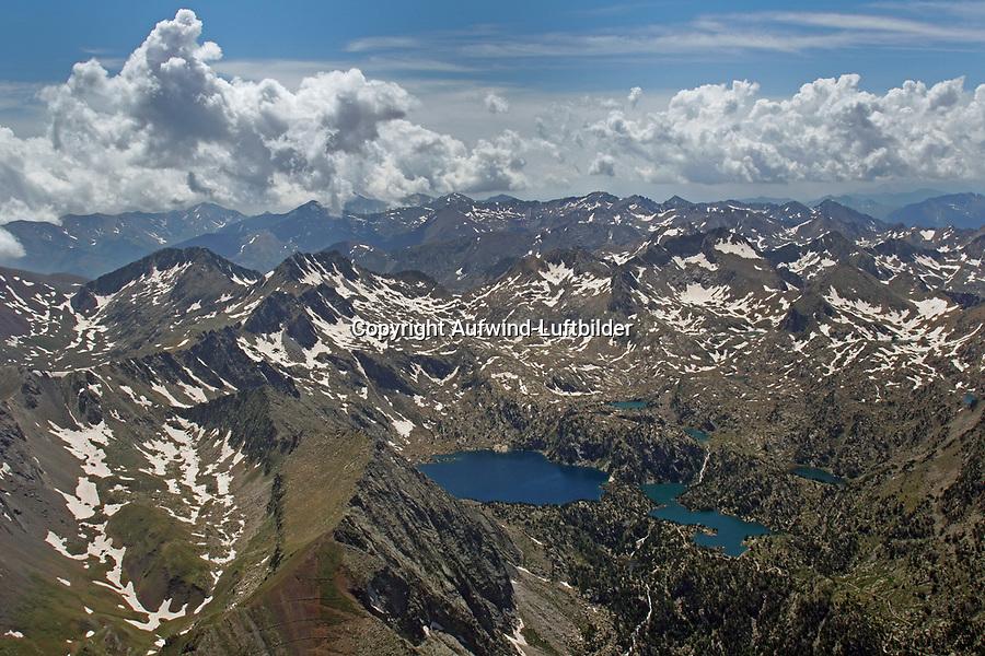 Pyrenäen: EUROPA,  SPANIEN, KATALANIEN, LA CERDANYA, 24.06.2018: Pyrenäen