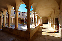 Cloisters of the monartery of St Francis, Zadar, Croatia