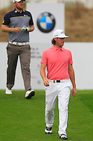 Kristoffer Broberg (SWE) walks off the 11th tee during Friday's Round 2 of the 2014 BMW Masters held at Lake Malaren, Shanghai, China 31st October 2014.<br /> Picture: Eoin Clarke www.golffile.ie