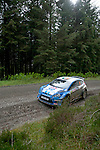 14th September 2012 - Devils Bridge - Mid Wales : WRC Wales Rally GB SS6 Myherin stage : Craig Breen and Paul Nagle of Ireland in their Ford Fiesta S2000.