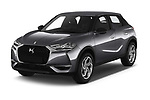 2019 Ds DS-3-Crossback Grand-Chic 5 Door SUV Angular Front automotive stock photos of front three quarter view