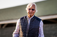 LOUISVILLE, KY - MAY 06: Trainer Bob Baffert the morning after winning his 5th Kentucky Derby at Churchill Downs on May 6, 2018 in Louisville, Kentucky. (Photo by Alex Evers/Eclipse Sportswire/Getty Images)