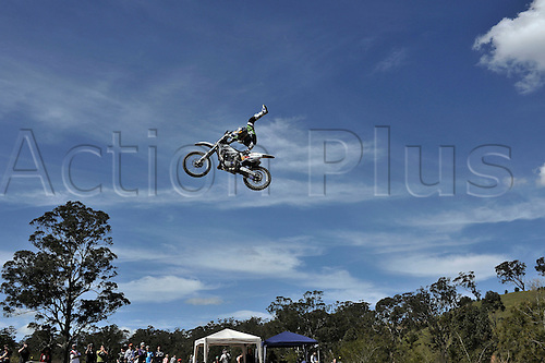 12.09.2010 Red Bull Xray returns to the Razorback Ranch in New South Wales, Australia. Australia's Robbie Madison in action.