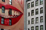"""Lafayette St / Prince St.<br /> From the """"Tall Figures"""" series. <br /> Soho, Manhattan, New York.<br /> © 2020 Thierry Gourjon"""