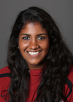 STANFORD, CA - OCTOBER 22:  Pallavi Menon of the Stanford Cardinal during water polo picture day on October 22, 2009 in Stanford, California.