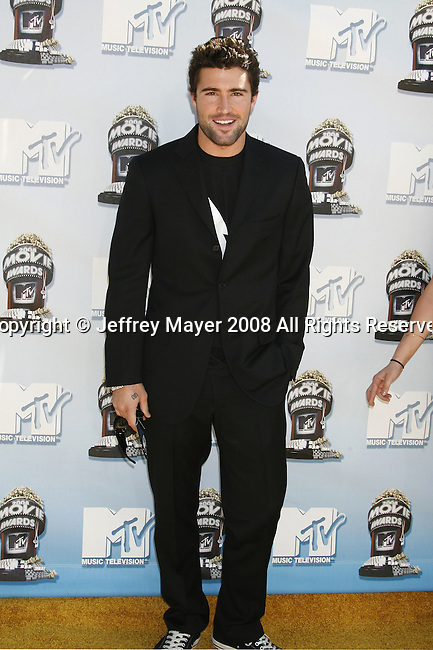 TV Personality Brody Jenner arrives to the 2008 MTV Movie Awards on June 1, 2008 at the Gibson Amphitheatre in Universal City, California.