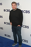 James Corden arrives at the CBS Upfront at The Plaza Hotel in New York City on May 17, 2017.
