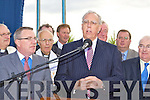 Minister of Defence Tony Kileen addresses the crowd at the opening of the Castleisland By-pass on Friday