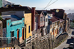 Painted Houses Of Valparaiso