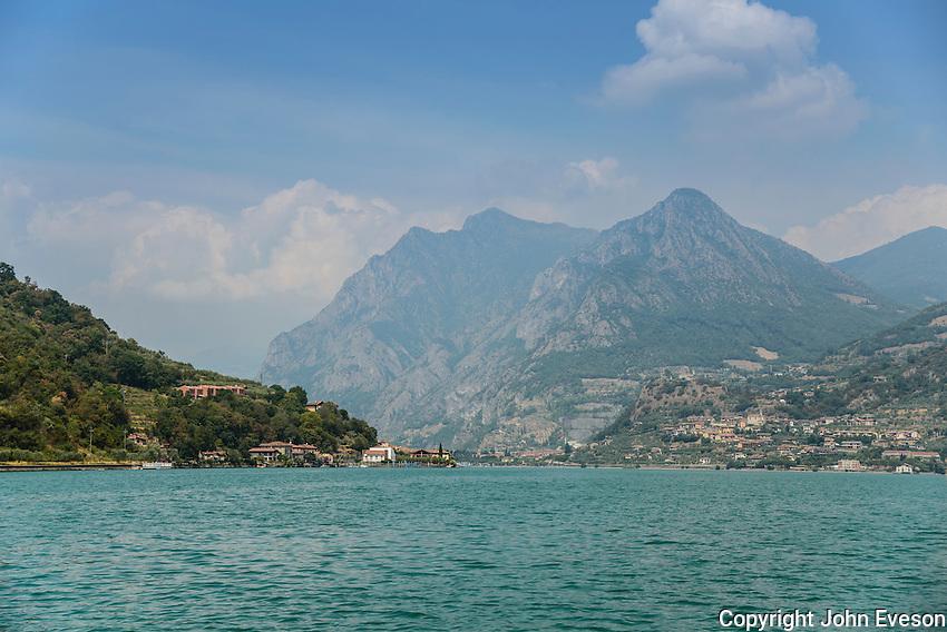 Lake Iseo, Lombardy, Italy.
