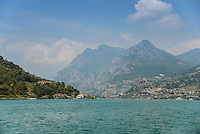 Lake Iseo, Lombardy, Italy.